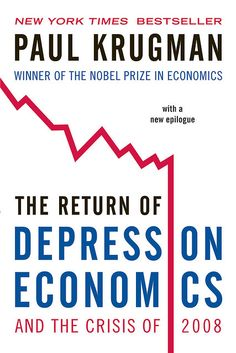 The Return of Depression Economics and the Crisis of 2008 design by Gray318