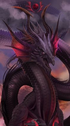 Dragon Card 1 by IrenBee.deviantart.com on @DeviantArt