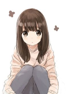 L Anime, Female Anime, Anime Art, Brown Hair Anime Boy, How To Draw Anime Hair, Cute Anime Profile Pictures, Profile Pics, Cute Bear Drawings, Best Friend Drawings
