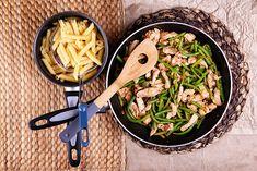Csirkés, zöldbabos ragu tésztával I Foods, Food Photography, Keto, Blog, Blogging