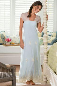 Womens Antoinette Gown - Nightgown Built In Bra 61272e765
