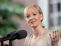 The fringe benefits of failure: J.K. Rowling Speaks at Harvard Commencement