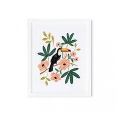 Affiche toucan | Rifle Paper Co | 47€