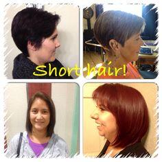 Short hair by Krista Gasca.