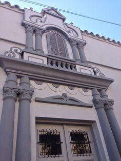 Fachada antigua. Asunción-Paraguay
