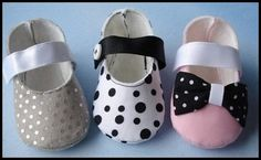 Mary Jane Booties with Ribbon Velcro Strap 0-14mths