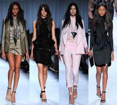 La collection Givenchy Printemps-Eté 2012 à la Fashion Week de Paris ...