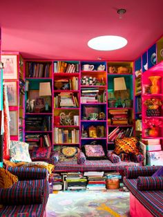 Some color other than pink... But ALL THE BOOKS!!!