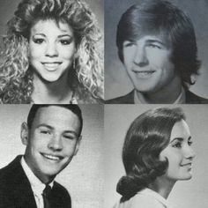 Mariah, Alec Baldwin, Billy Crystal Lucci...from their LI  yearbooks