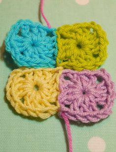 tutorial for ladder stitch -- invisible join for crochet