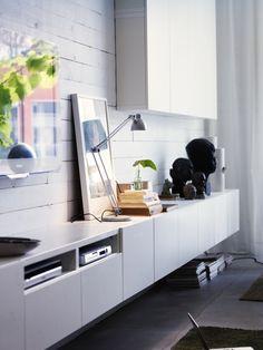 Album - 1 - Photos catalogs IKEA TV stand, Besta, Billy, Hemnes, Liatorp ...