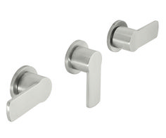 Arpeggio 3 Handle Tub and Shower Trim Only -  less head, arm, flange and spout