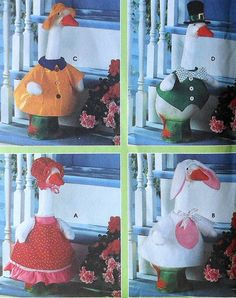 Lawn Goose Clothes Sewing Pattern