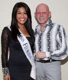 Miss Florida, Kristina Janolo, February 24, 2012, at the Van Wezel Performing Arts Hall, Sarasota, Florida