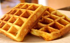 Receita de waffle para a fase ataque da dieta dukan. Não é low carb