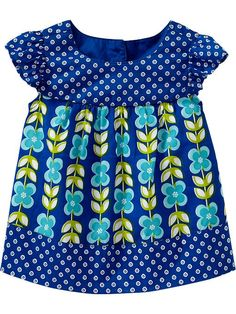 Old Navy | Mixed-Print Flutter-Sleeve Tops for Baby