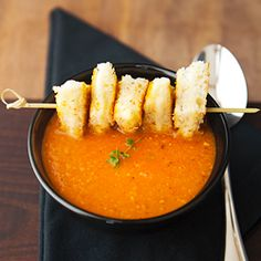 Roasted tomato soup - even better than tomato soup.