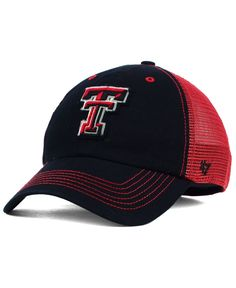 new styles 6b96c a835e ... best price 47 brand texas tech red raiders tayor closer cap 8ed71 4d9b5