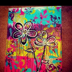 i love this.. such a fun painting