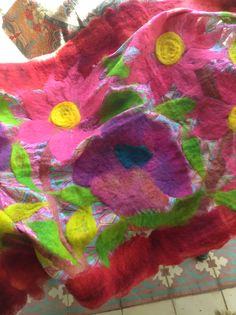 Violetas Blanket, Crochet, Violets, Felting, Ganchillo, Blankets, Cover, Crocheting, Comforters