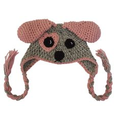 I'd like to introduce you to Rosie the Puppy. The Ruthless Crafter creates character hats. Let your child play with it! They can use it as a costume to become the character or as a puppet to act out a story. They are made with durable acrylic yarn and are washable. Have fun with them!  #puppyhat #doghat #crochetpuppy #imaginativeplay Puppy Hats, Crochet Character Hats, Crochet Monsters, Play Ideas, Creative Play, Imaginative Play, Handmade Toys, Pjs, Puppets