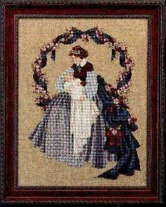 Sweet Dreams, Cross Stitch from Lavender and Lace Lavende...