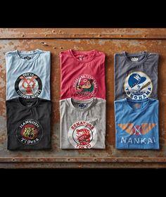 Men's Vintage Nippon League Baseball Logo Graphic Short-Sleeve T-Shirt Teen Boy Fashion, Mens Fashion, Cool Shirts For Men, Create Shirts, Moda Casual, Clothing Photography, American Sports, Vintage Men, Vintage Design