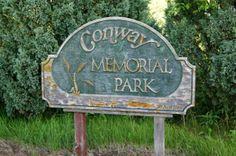 Conway, North Dakota Memorial Park in Walsh County