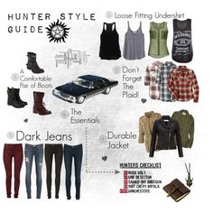 Ever feel like saving people or hunting   things? Are you thinking about going into the family business? While this guide   can't give you the ability to be a great hunter, it can at least help you look   like one! :)