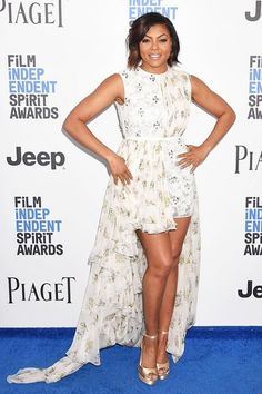 9bf27645fb See Taraji P. Henson, Kerry Washington and more of the best dressed stars  at the Film Independent Spirit Awards 2017 in Santa Monica, California, ...