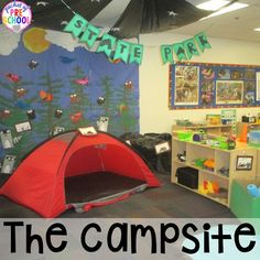 Camping Dramatic Play Camping Dramatic Play: How to set it up in your preschool, pre-k, tk, and kindergarten classroom Camping Dramatic Play, Dramatic Play Themes, Dramatic Play Area, Dramatic Play Centers, Preschool Centers, Kindergarten Classroom, Classroom Themes, Preschool Activities, Camping Activities