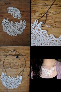DIY � Vintage Necklace