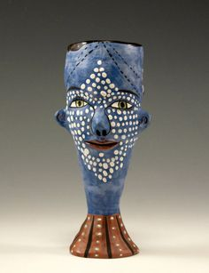 Two Faces Cup by jennymendes on Etsy $135.00