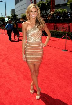 Picture of Erin Andrews Tight Dresses, Sexy Dresses, Prom Dresses, Bandage Dresses, Erin Andrews, Dress Skirt, Bodycon Dress, Espy Awards, Herve Leger