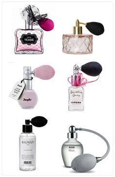 flakon z pompką, perfumy z pompką