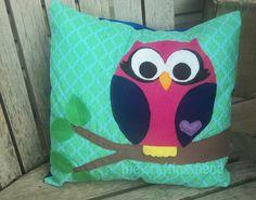 owl pillow tutorial