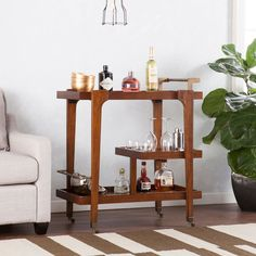 Our Best Dining Room & Bar Furniture Deals Mid Century Modern Bar Cart, Mid Century Bar, Mid Century Modern Decor, Mid Century Style, Bar Furniture, Furniture Deals, Modern Furniture, Kitchen Furniture, Furniture Websites