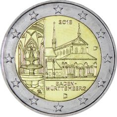 2 Euro CuNi Kloster Maulbronn D UN