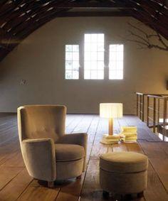 MORAGAS armchair designed by Anotnio de Moragas (1957) and edited by Santa & Cole.