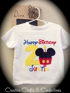 Mickey Mouse Clubhouse Inspired Mickey by CreativeCraftsbyJes, $30.00