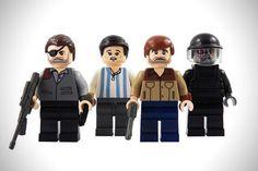 The Walking Dead LEGO Minifigures