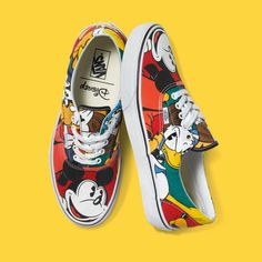 Vans x Disney: Spring/Summer 2015 Sneaker Collection - EU Kicks: Sneaker Magazine Vans X, Tenis Vans, Vans Sneakers, Vans Shoes, Vans Footwear, Aqua Shoes, Adidas Shoes, Disney Vans, Disney Shoes