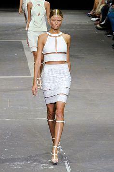 New York Fashion Week Spring 2013 Runway Looks - Best Spring 2013 Runway Fashion - Harper's BAZAAR