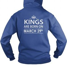 Birthday March 29 kings SHIRT FOR WOMENS AND MEN ,BIRTHDAY, QUEENS I LOVE MY HUSBAND ,WIFE Birthday March 29-TSHIRT BIRTHDAY Birthday March 29 yes it's my birthday