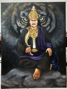 Prabu siliwangi Indonesian Art, Fantasy Illustration, Wallpaper Pictures, Angel Art, Galaxy Wallpaper, Animals And Pets, Hero, Culture, Cartoon