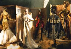 Styled by Grace Coddington- The Creative Director of American Vogue