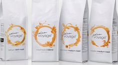Colombo tea and coffee co-clever mix of coffee stain round and floral silhouette