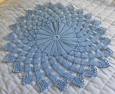 Modell 3 pattern by L. Crochet Doily Rug, Free Crochet Doily Patterns, Crochet Dollies, Crochet Tablecloth, Crochet Diagram, Crochet Chart, Crochet Home, Thread Crochet, Crochet Designs
