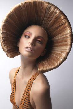 Korean Fashion Looks Creative Hairstyles for Women lilostyle.Korean Fashion Looks Creative Hairstyles for Women lilostyle Creative Hairstyles, Latest Hairstyles, Cool Hairstyles, Crazy Hair, Big Hair, High Fashion Hair, 80s Fashion, Korean Fashion, Fashion Tips