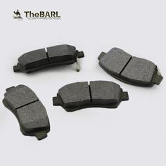 auto spare parts front brake pads ceramic factory car parts auto less metal semi brake pad